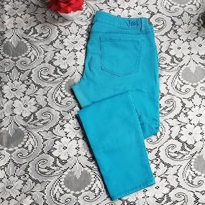 l.e.i. Ashley Lowrise Skinny - Turquoise
